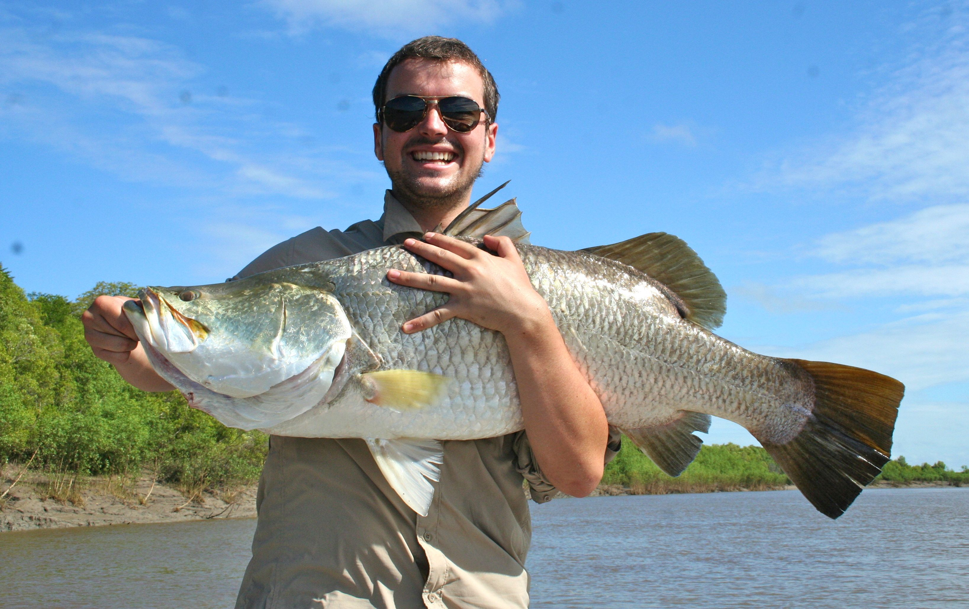Darwin Barra Fishing
